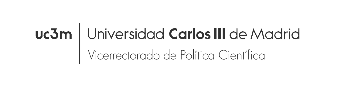 Vice-President of Science Policy of the Carlos III University of Madrid